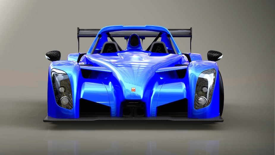 Radical RXCSpyder Front blue-reduced