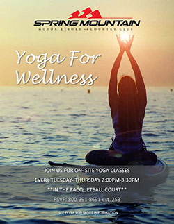 Yoga for Wellness Poster