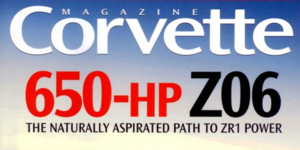 Corvette Magazine March Issue, Retirement Plan!