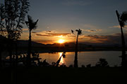 02 lake spring mountain sunset