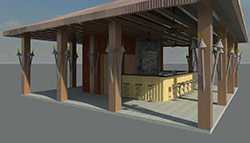 TIKI BAR Rendering