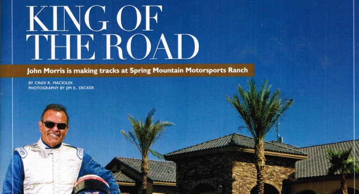 "Luxury LV Mag august issue, ""King of the Road!"""