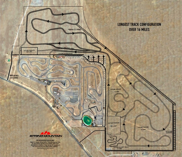 Spring Mountain Motor Resort Acquiring 553 Adjacent Acres